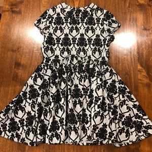 Girls dress. Black and grey Size 10.